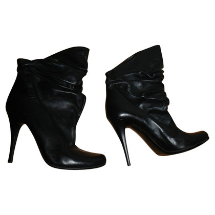 Gianmarco Lorenzi leather boots