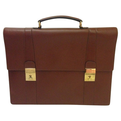 Céline Leather Briefcase