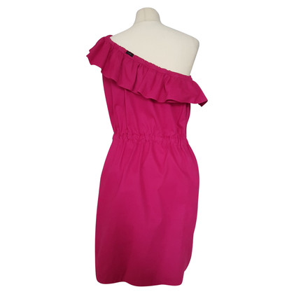 Joseph Una spalla Ruffle Dress