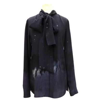 Akris Silk blouse with photoprint