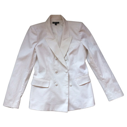 Rachel Zoe Double-breasted Blazers with silk trim