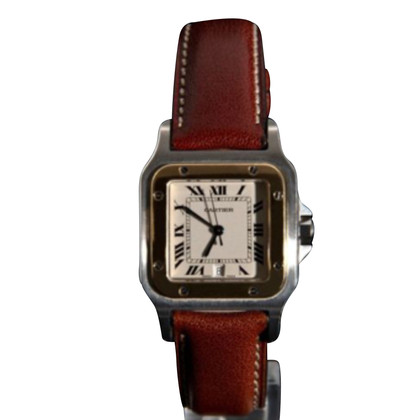 "Cartier ""Santos Galbée Two Tone"""