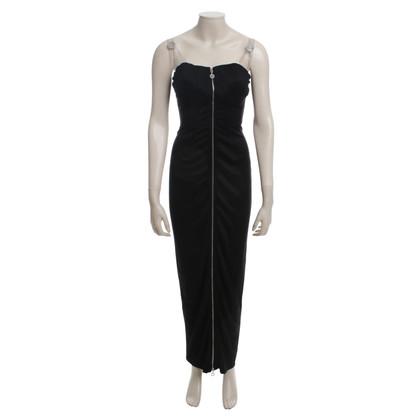 Versace Abendkleid in Schwarz