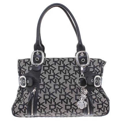 DKNY Handbag in black and white