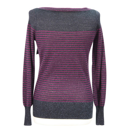 Reiss maglione di lana a righe