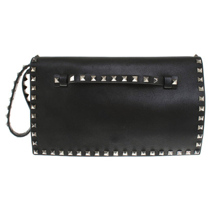 Valentino clutch with rivets