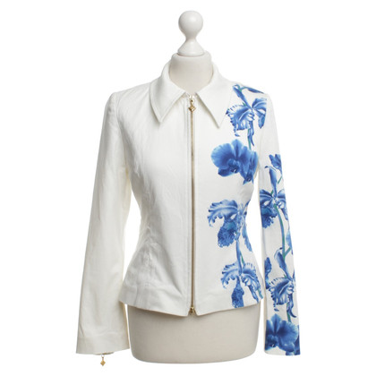 MCM Jacket with floral motif