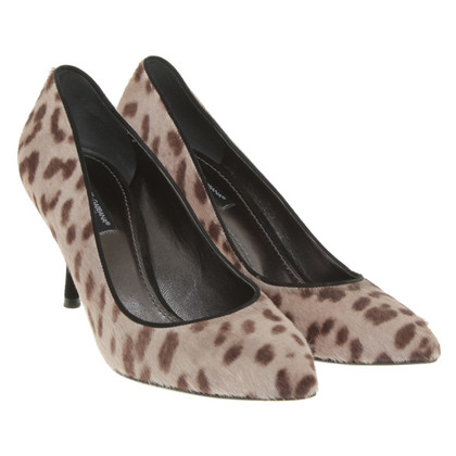 Dolce & Gabbana pumps with animal print