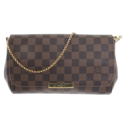 "Louis Vuitton ""Favorite PM Damier Ebene Canvas"""