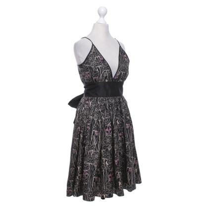 Thomas Wylde Silk dress with pattern