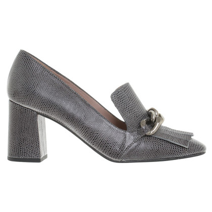 Paco Gil Pumps in Reptil-Optik