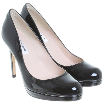 L.K. Bennett Patent leather Pumps in black