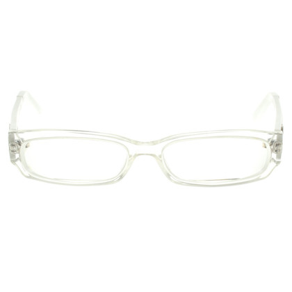 Gucci Glasses in White / Transparent