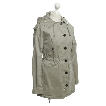 Blonde No8 Parka with hood