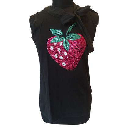 Moschino Cheap and Chic Top met pailletten
