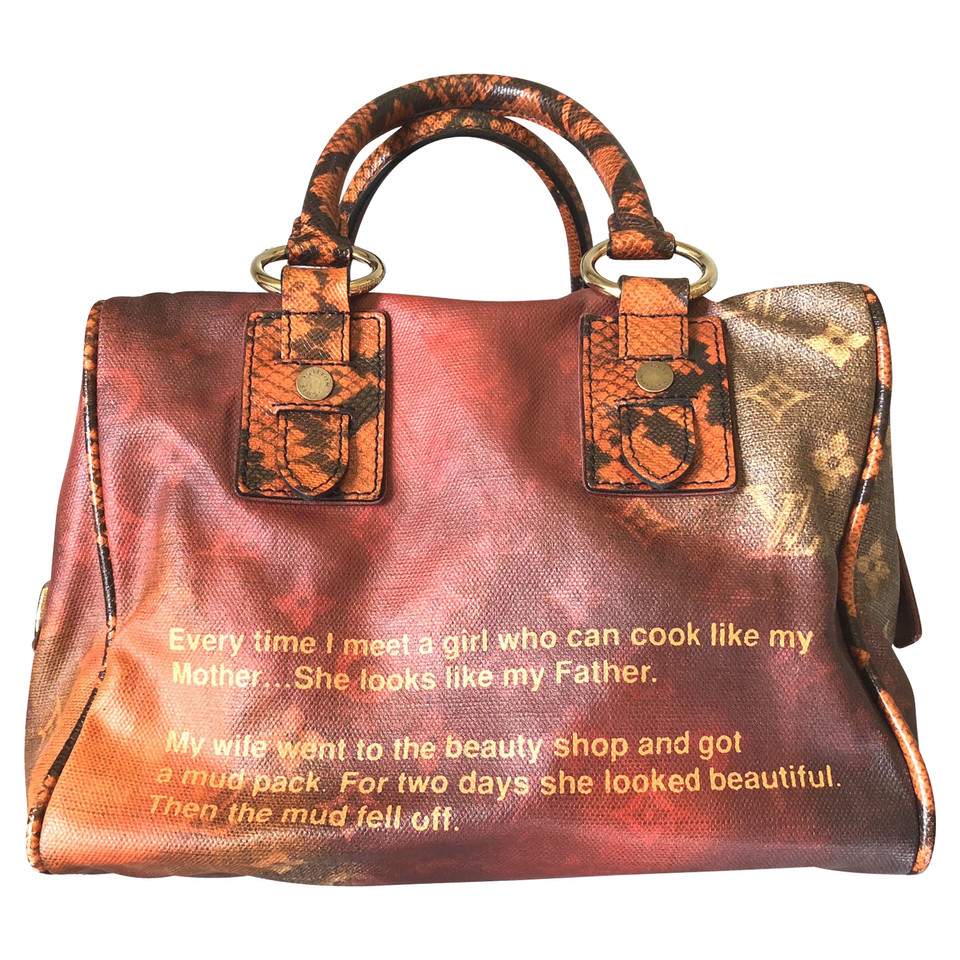 Louis vuitton borsa jokes mancrazy di richard prince for Amazon borse louis vuitton