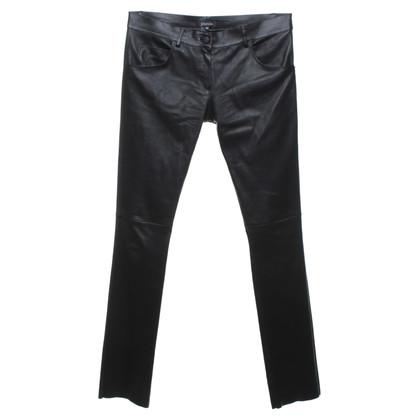 Jitrois Leren broek in zwart