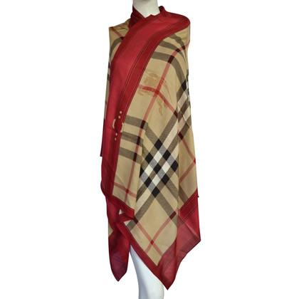 Burberry XXL scarf with cashmere part