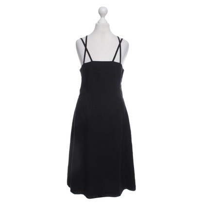 René Lezard Linen Dress in Black