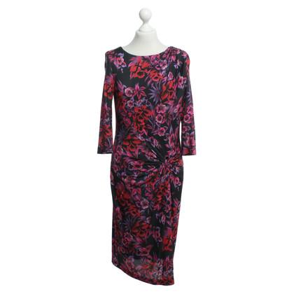 Laurèl Kleid mit floralem Muster