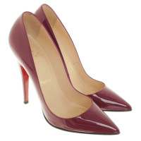Christian Louboutin pumps made of patent leather