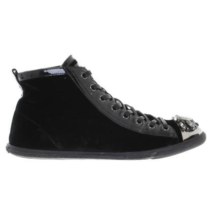 Miu Miu Velvet chaussures de sport