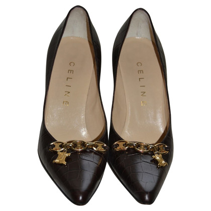 Céline pumps made of leather