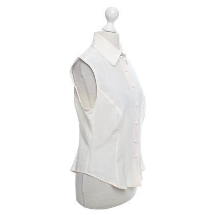 Rena Lange camicetta senza maniche in crema