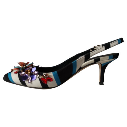 Dolce & Gabbana Slingbacks in Multicolor