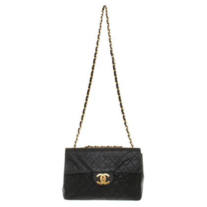 "Chanel ""Jumbo Flap Bag"" in black"