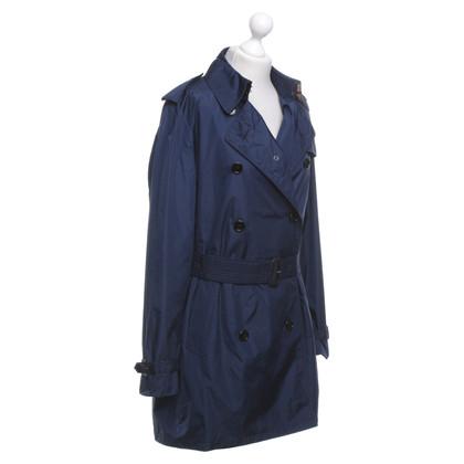 Burberry Trenchcoat in donkerblauw