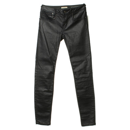 Burberry Jeans in viola scuro