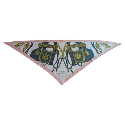 Hermès Dreieckstuch aus Seide