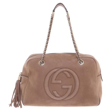 """Gucci """"Soho Shoulder Bag"""" in beige"""