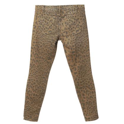 Current Elliott Jeans mit Animal Print