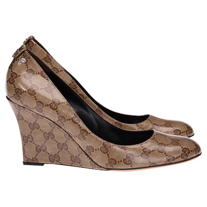 Gucci Wig pumps met Guccissima patronen