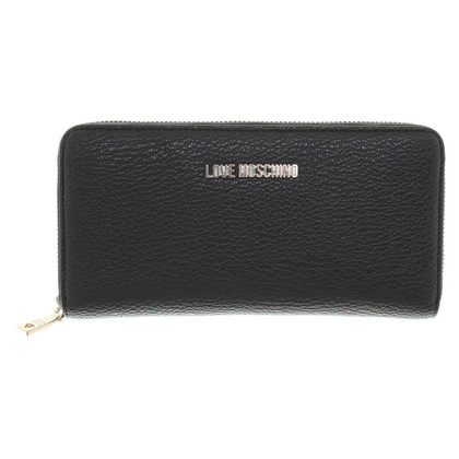 Moschino Love Wallet in black
