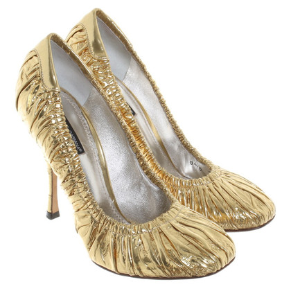 Dolce & Gabbana Golden pumps