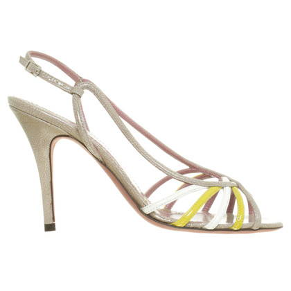 Jean-Michel Cazabat High Sandals beige