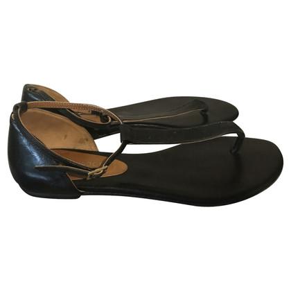 Navyboot Sandals in black
