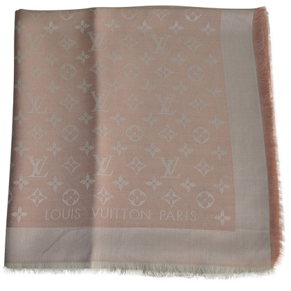 Louis Vuitton Monogram-Denim-Tuch in Pink