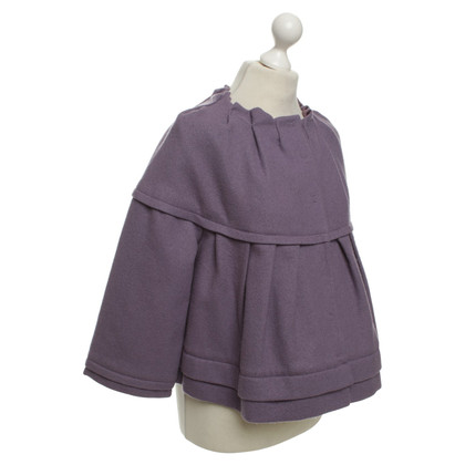 Philosophy di Alberta Ferretti Jacket in purple
