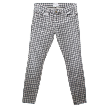 Current Elliott jeans Houndstooth
