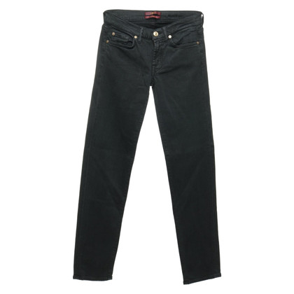 7 For All Mankind Jeans en vert sapin