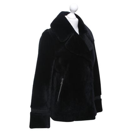 Prada Korte jas gemaakt van echt bont