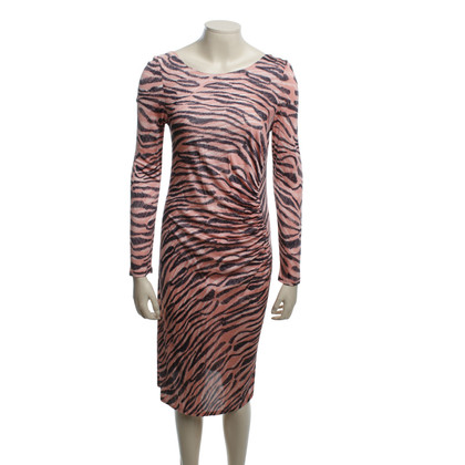 L.K. Bennett Gedessineerde jurk in Bunt