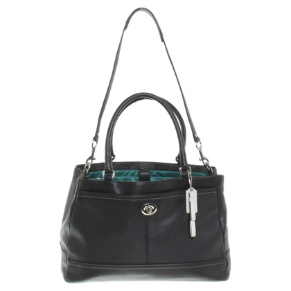 Coach Leather bag in black