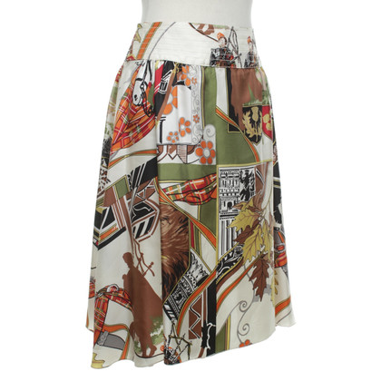 Blumarine skirt with motif print