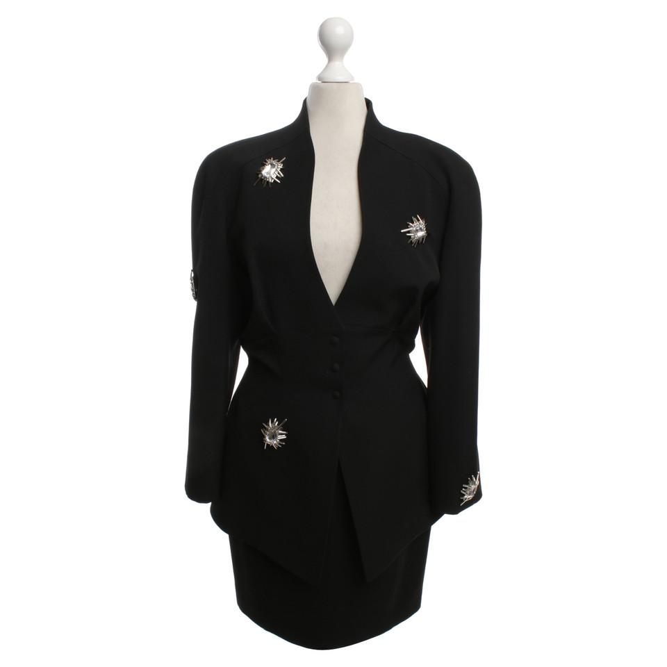 Mugler Costume in zwart