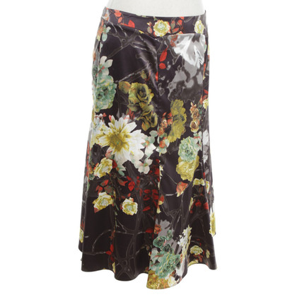 Just Cavalli Gored rok met bloemenprint